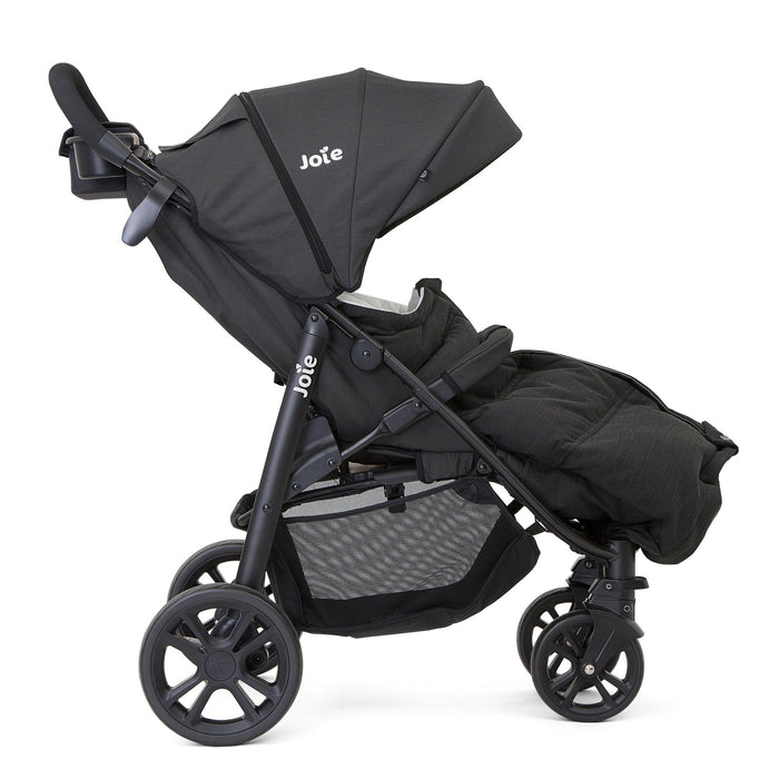 Joie Therma Footmuff - Coal (black) - Pushchair Expert
