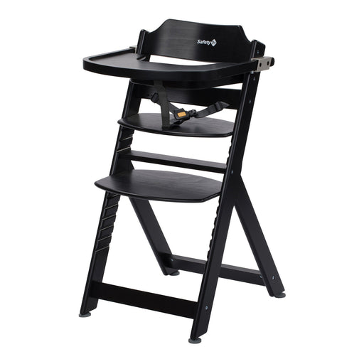 Safety 1st Timba Wooden Highchair - Deep Black