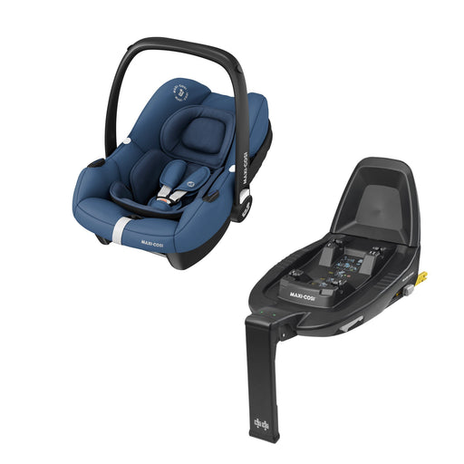 Maxi-Cosi Tinca i-Size infant car seat and FamilyFix2 base - Essential Blue
