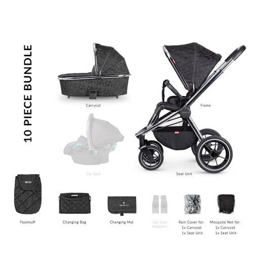 Venicci Tinum 2-in-1 Travel System - Camo Black - Pushchair Expert