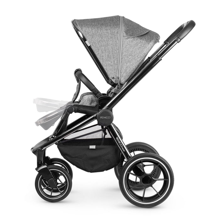 Venicci Tinum 2-in-1 Travel System - Grey - Pushchair Expert