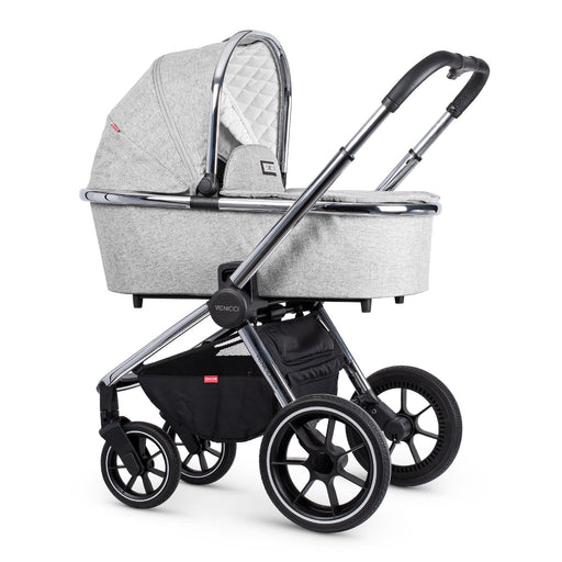 Venicci Tinum 2-in-1 Travel System - Light Grey - Pushchair Expert