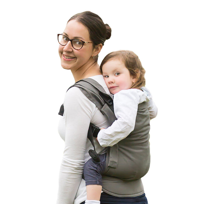 Izmi Toddler Carrier Mid Grey - Pushchair Expert