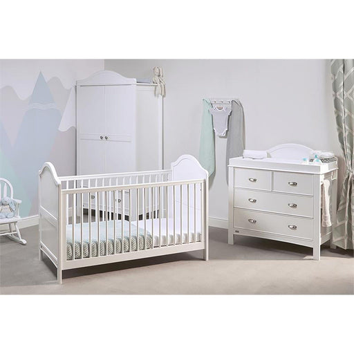 East Coast Toulouse 3-piece room set - White