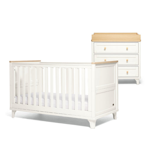 Mamas & Papas Trista 2-piece room set - White/Oak