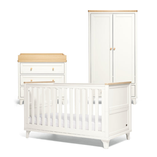 Mamas & Papas Trista 3-piece room set - White/Oak