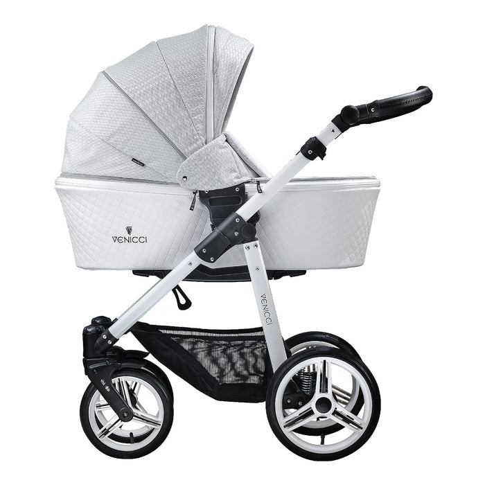 Venicci Pure 3-in-1 Travel System Stone Grey - Pushchair Expert