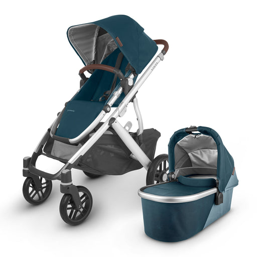 UPPAbaby VISTA V2 with Carrycot (2020) - Finn - Pushchair Expert