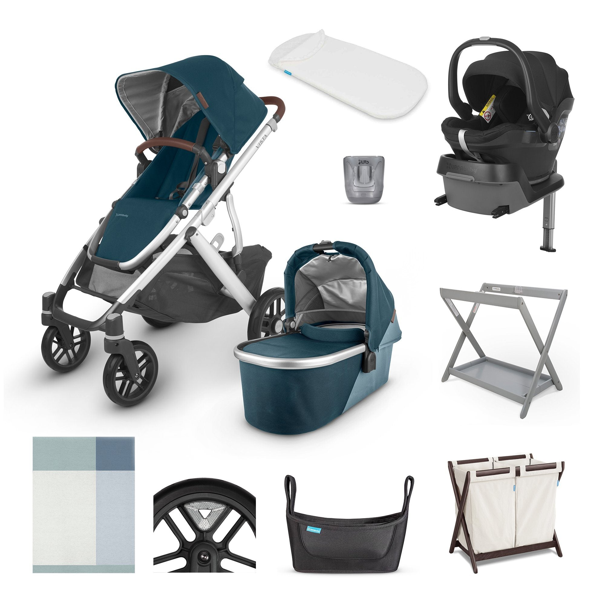 UPPAbaby VISTA V2 i-Size Ultimate Travel System (2020) - Finn