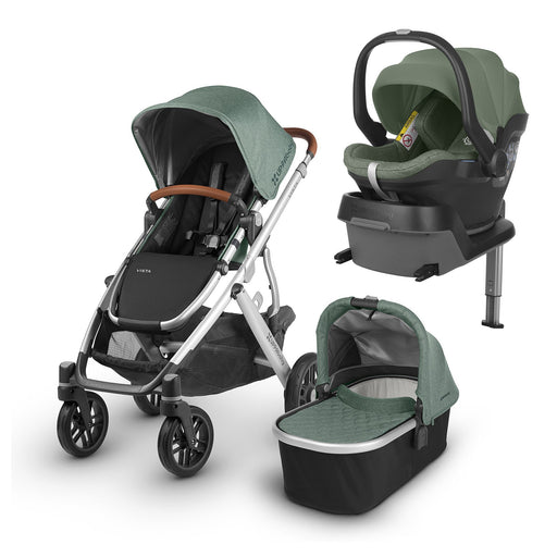 UPPAbaby VISTA i-Size Travel System - Emmett - Pushchair Expert