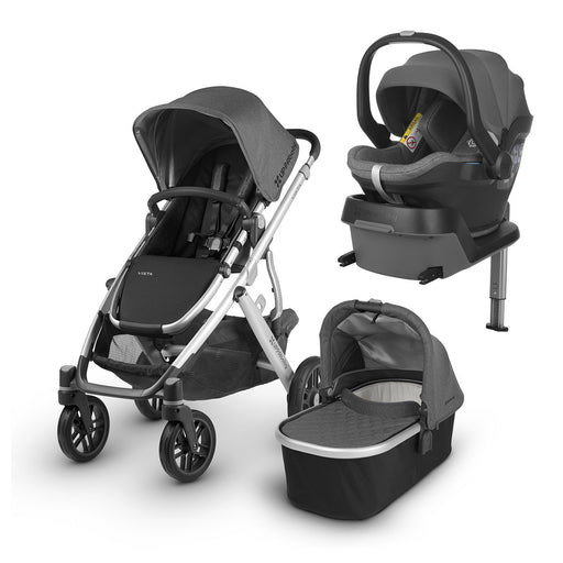 UPPAbaby VISTA i-Size Travel System - Jordan - Pushchair Expert