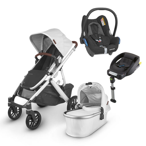 UPPAbaby VISTA V2 Travel System (2020) - Bryce with Maxi-Cosi Cabriofix and base