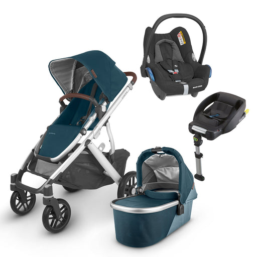 UPPAbaby VISTA V2 Travel System (2020) - Finn with Maxi-Cosi Cabriofix and base