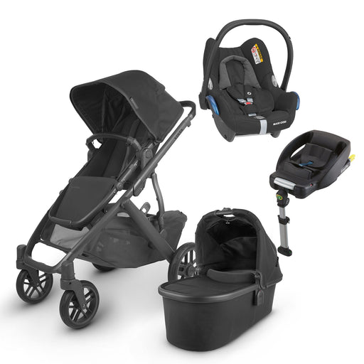 UPPAbaby VISTA V2 Travel System (2020) - Jake with Maxi-Cosi Cabriofix and base