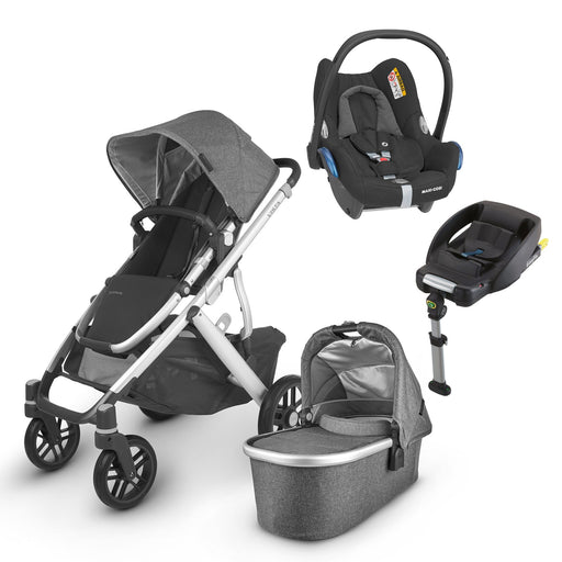 UPPAbaby VISTA V2 Travel System (2020) - Jordan with Maxi-Cosi Cabriofix and base