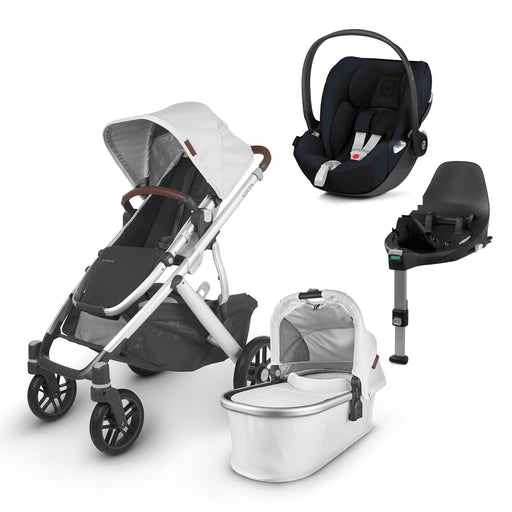 UPPAbaby VISTA V2 Travel System (2020) - Bryce with Cybex Cloud Z and base