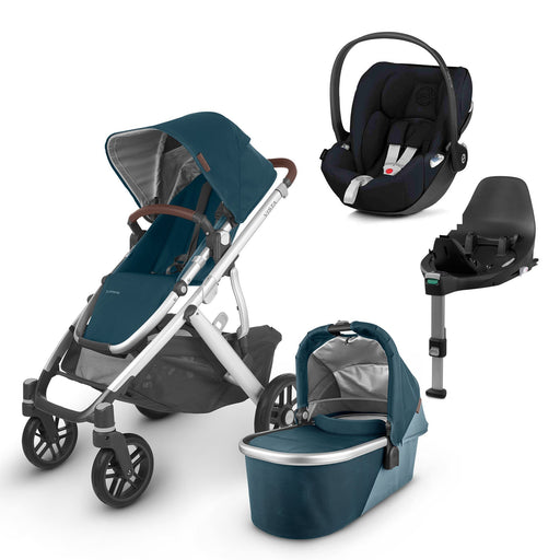 UPPAbaby VISTA V2 Travel System (2020) - Finn with Cybex Cloud Z and base