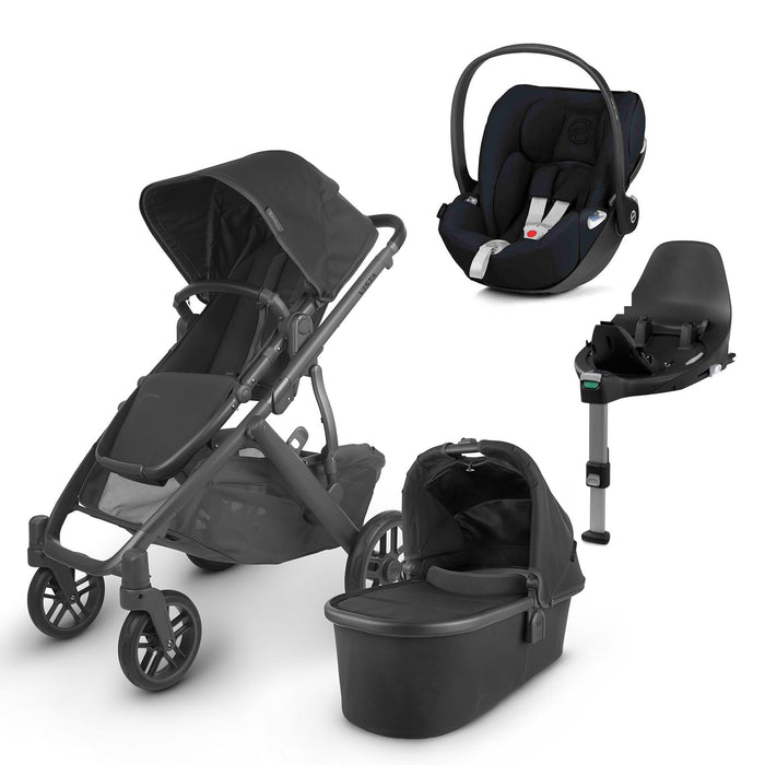 UPPAbaby VISTA V2 Travel System (2020) - Jake with Cybex Cloud Z and base
