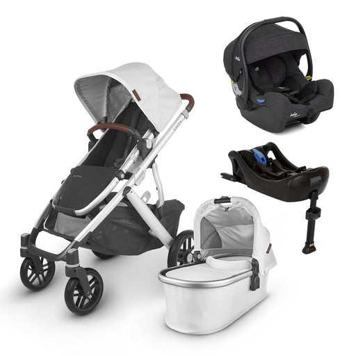 UPPAbaby VISTA V2 Travel System (2020) - Bryce with Joie i-Gemm 2 and i-Base