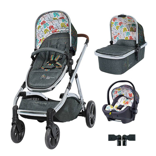 Cosatto Wow XL Premium Travel System Bundle - Nordik