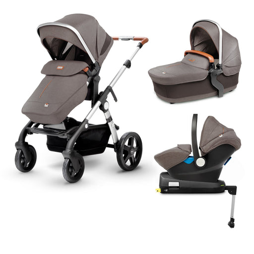Silver Cross Wave Travel System Bundle - Sable - Pushchair Expert