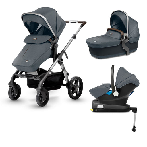 Silver Cross Wave Travel System Bundle - Slate - Pushchair Expert