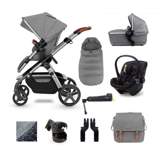 Silver Cross Wave 2020 Dream i-Size ISOFIX travel system bundle - Zinc