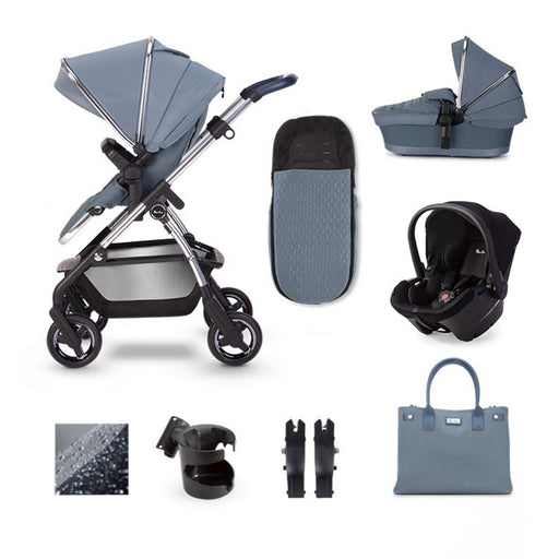 Silver Cross Wayfarer 2020 Simplicity Plus travel system bundle - Sky