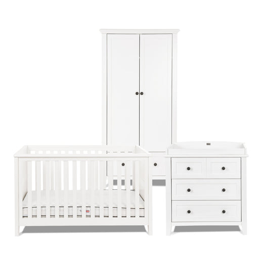 Silver Cross Nostalgia White Complete Nursery Set - Pushchair Expert