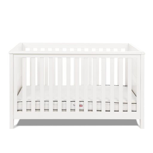 Silver Cross Nostalgia White Cot Bed - Pushchair Expert