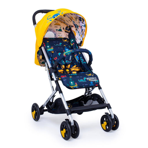 Cosatto Woosh 2 stroller - Sea Monsters - Pushchair Expert