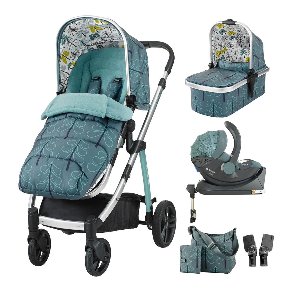 Cosatto Wow i-Size Whole 9 Yards Bundle - Pushchair Expert