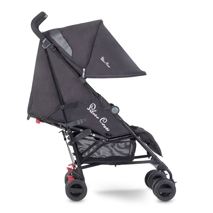 Silver Cross Zest - Charcoal Black - Pushchair Expert