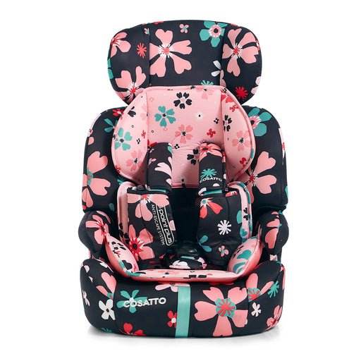 Cosatto Zoomi Group 1/2/3 car seat - Paper Petals - Pushchair Expert