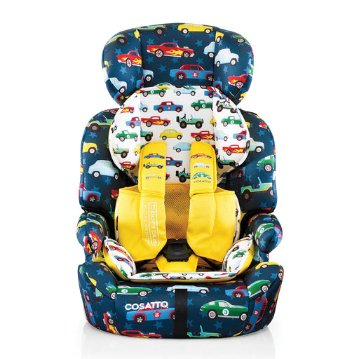 Cosatto Zoomi Group 1/2/3 car seat - Rev Up - Pushchair Expert