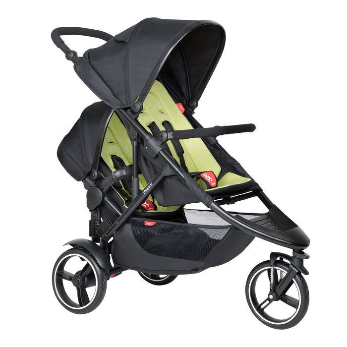 phil&teds Double Kit - Apple - Pushchair Expert