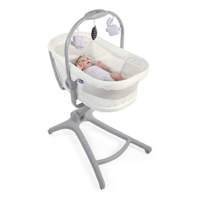 Chicco Baby Hug Air 4 in 1 Crib - White Snow