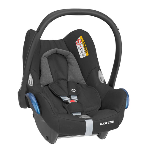 Maxi-Cosi CabrioFix Group 0+ infant car seat - Essential Black - Pushchair Expert