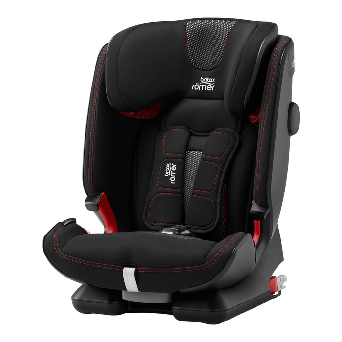 Britax Rӧmer Advansafix IV R Car Seat - Cool Flow Black - Pushchair Expert