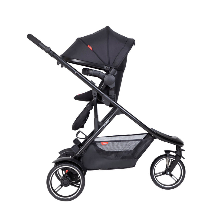 phil&teds Double Kit - Charcoal - Pushchair Expert