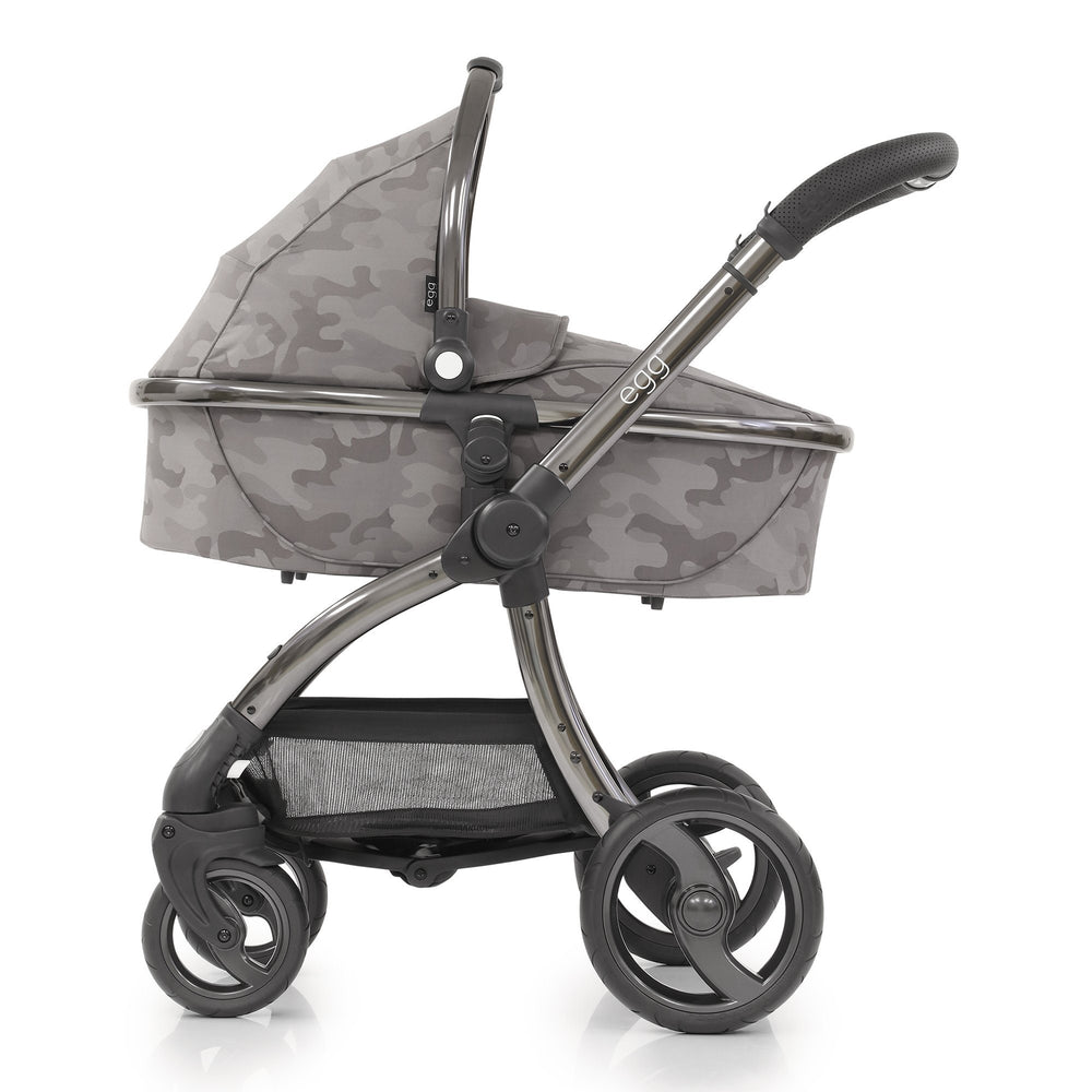 egg Stroller Special Edition with Carrycot - Camo Grey