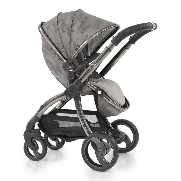 egg Stroller Special Edition with Carrycot - Camo Grey - Pushchair Expert