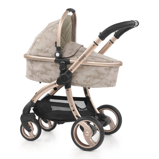 egg Stroller Special Edition with Carrycot - Camo Sand - Pushchair Expert