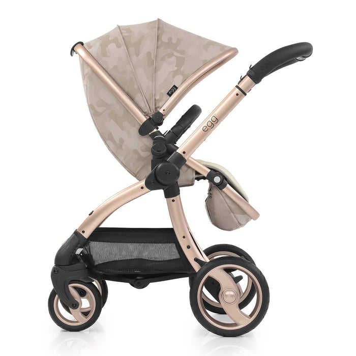 egg Tandem Stroller Special Edition Camo Sand - Pushchair Expert