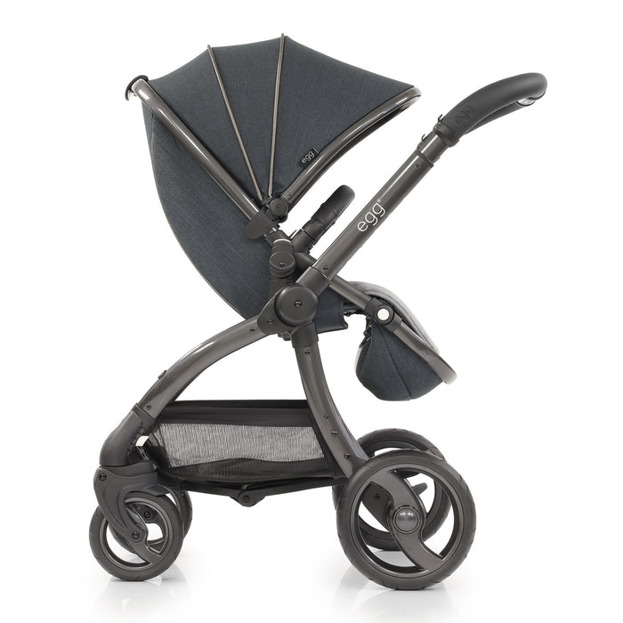 egg Stroller with Carrycot - Carbon Grey