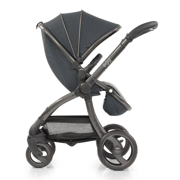 egg Stroller Carbon Grey Travel System with Maxi-Cosi Cabriofix - Pushchair Expert