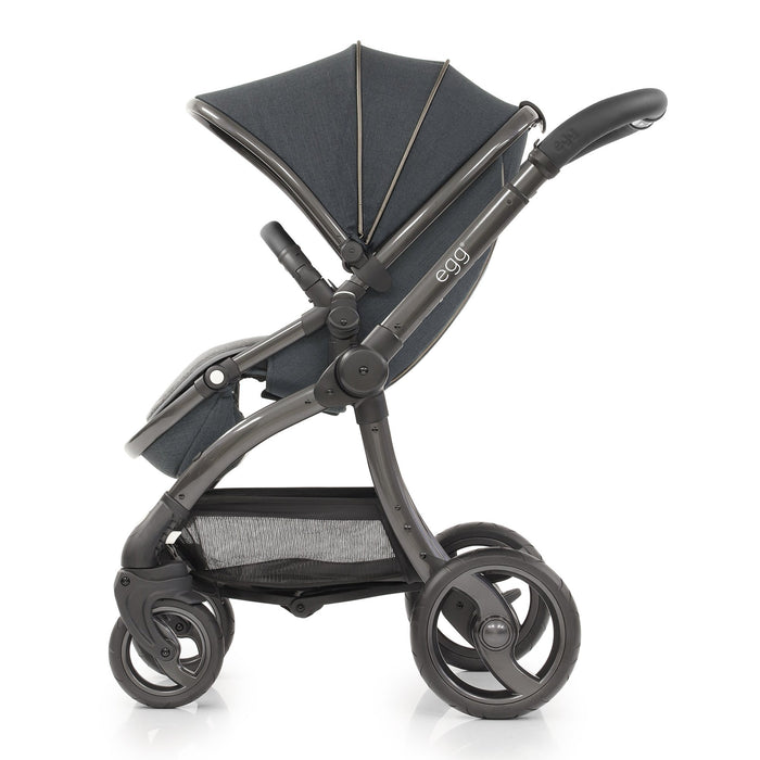 egg Stroller with Carrycot - Carbon Grey - Pushchair Expert