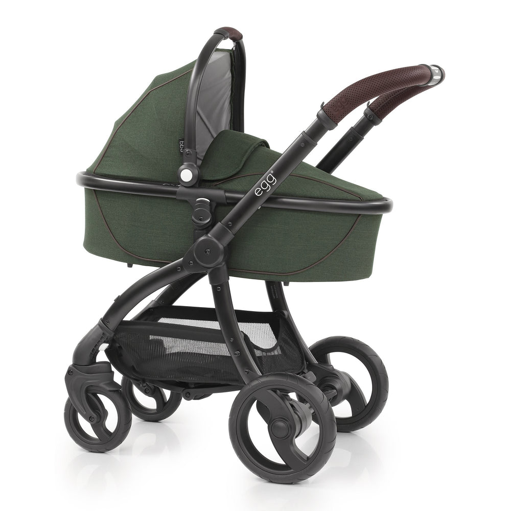 egg Stroller with Carrycot - Country Green