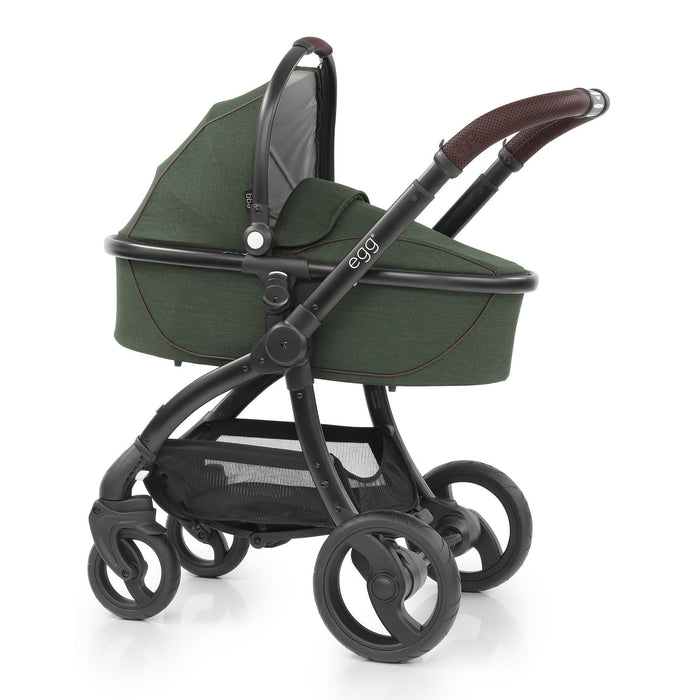 egg Stroller Country Green with Cybex Cloud Z and base