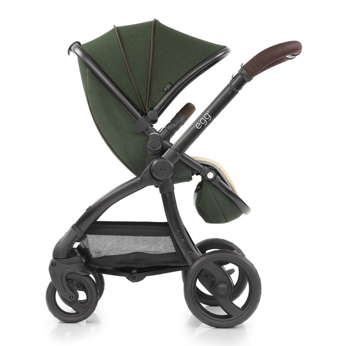 egg Stroller Country Green Luxury Bundle with Maxi-Cosi Pebble+ and base